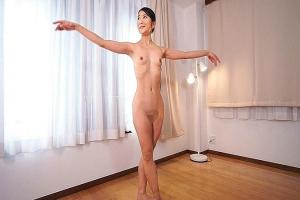 草刈美緒 熟女バレエ講師が全裸でレッスン美しい体を見せつける