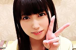 SENA(20) 黒髪の美少女女子大生をホテルに連れ込みハメ撮り!洗面所でガン突き立ちバック