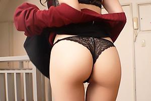 【素人】みさきさん(30) 性欲激強な巨乳熟女のビッチ義母!義理の息子とNTR近親相姦セックス