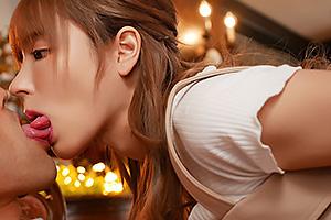 桃乃木かな 極上美少女の濃厚接吻でベロベロディープキスと汁だくフェラチオ