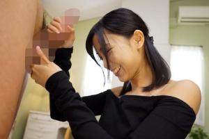 竹田ゆめ スレンダーな超絶美少女がギンギンちんぽを手コキ!あまりの快感で手の中にザーメン射精