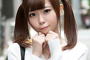 TAE(20) ツインテールの小悪魔ギャルとハメパコ!関西弁の素人娘にザーメン中出し