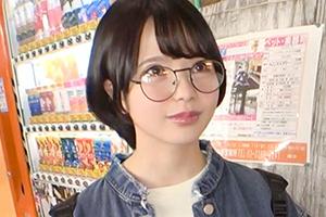 【ナンパTV】美巨乳を揺らして感じまくるスケベ女子大生のお顔に大量フィニッシュ