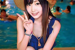 ましろ ナイトプールで見つけたアイドル級のビキニ美女をナンパ!素人まんこにザーメンを中出し