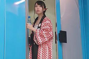 【マジックミラー号】お祭り好きな激カワ女子大生がふんどしに生着替え!食い込みまくりの美尻を堪能