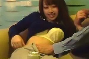 るあ(22) Gカップ爆乳おっぱいの素人妻が不倫!盗撮されているとも知らず騎乗位で乱れる痴女