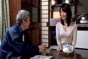 滝川恵理 夫を亡くした悲しみの嫁と義父が密室のSM調教でのめり込む近親相姦!巨乳嫁もすっかり愛玩ペット化!