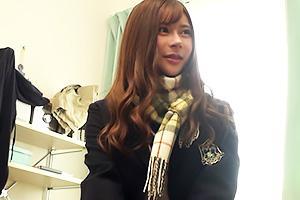悠月リアナ 読者モデル級に可愛い制服JKと円光セックス!パイパンまんこにザーメンをたっぷり中出し