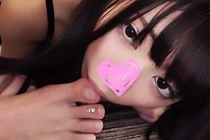 【素人】でびる ザーメン大好きな美少女マゾバンギャ!唾液を垂れ流し絶頂アクメで崩れ落ちる