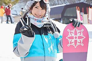 【マジックミラー号】雪山で見つけたスキーウェアの美少女をナンパ!だいしゅきホールドで濃厚セックス