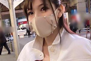 【ナンパTV】騎乗位で巨乳を振り乱すM気質のホテルの受付嬢がイキ顔を晒け出す…