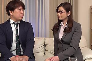 葵百合香 仕事ができる憧れの女上司の自宅にお邪魔することになった部下!人妻熟女と二人きりになり興奮