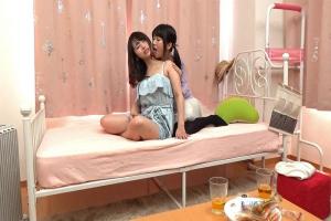 聖菜アリサ 可愛い女の子を速攻ナンパ部屋に連れ込み不意打ちレズキス愛撫