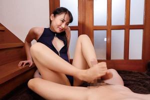 枢木あおい 美脚の魅力たっぷりパンストの誘惑で美女が足コキ&フェラしながら乳首責めする脚フェチ