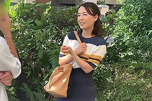 向井藍 スレンダーな経済学部の激カワ女子大生をナンパ!生ちんぽをぶち込みザーメン中出し