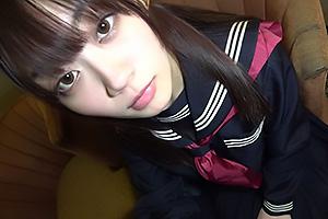 笠木いちか 美少女制服JKのバキュームフェラで気持ちよくなり口内射精