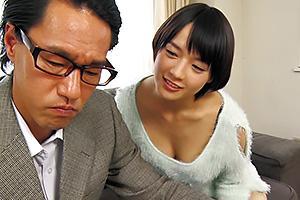 向井藍 年上好きな息子の嫁に誘惑されてしまう義父!背徳の近親相姦NTRセックスでザーメン中出し