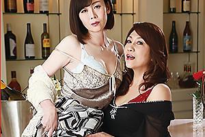 近藤郁 竹内梨恵 夫と不倫していた女をレズ調教する人妻!全裸の美熟女が濃厚百合セックス