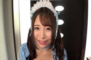 加藤ももか 巨乳美女のデリヘル嬢がメイドコスプレしてパイパン中出しセックス!
