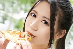 【潮崎ななみ 動画】ピザが好き!!Hが好き!好きなこと全部やりたくてAVデビュー 潮崎ななみ