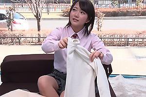 【マジックミラー号】清楚な制服JKをナンパ成功!巨乳を揉みまくり思春期まんこを肉棒で激ピス