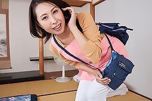 【VR】佐田茉莉子 訪問介護士としてやって来た三十路の美熟女!エッチな神サービス