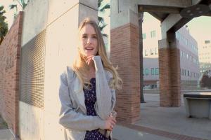 超絶美人な金髪の白人美女をナンパ!軟体バレリーナの外国人と生ハメファックでザーメン中出し