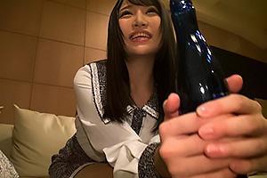 佐藤ののか 元SOD女子社員を送迎してそのままホテルイン!セックスに持ち込み肉棒挿入