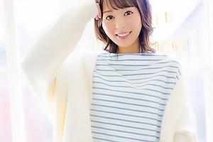 岡田ひなの カフェで働くスレンダー美女が衝撃のAVデビュー!感度抜群の大人女子と濃厚セックス